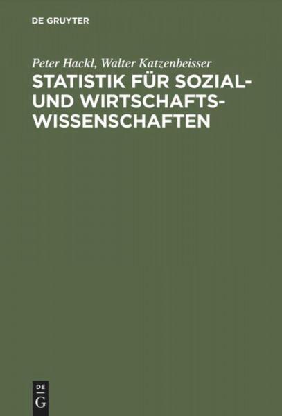 Statistik für Sozial- und Wirtschaftswissenschaften