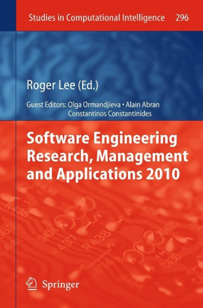 Software Engineering Research, Management and Applications 2010