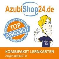 AzubiShop24.de Kombi-Paket Lernkarten Augenoptiker/in
