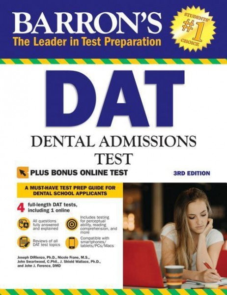 Barron's DAT: Dental Admissions Test