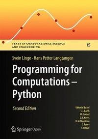 Programming for Computations - Python