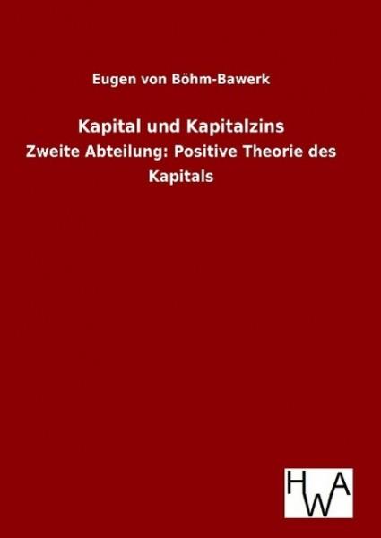 Kapital und Kapitalzins
