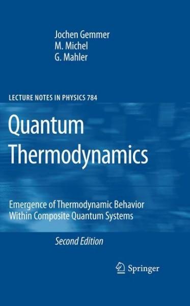 Quantum Thermodynamics