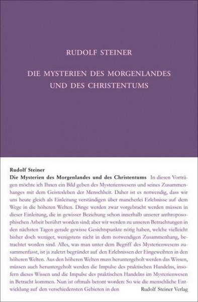 Die Mysterien des Morgenlandes und des Christentums