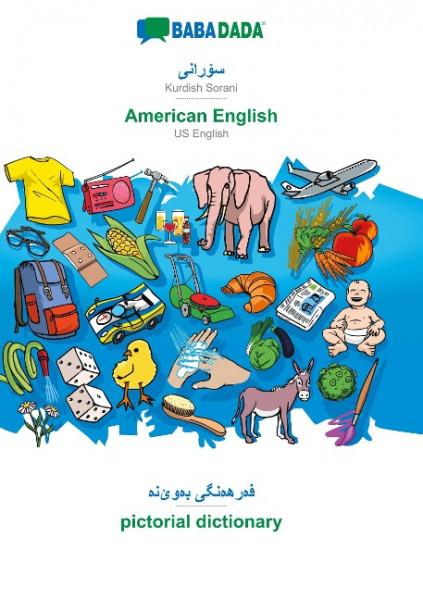 BABADADA, Kurdish Sorani (in arabic script) - American English, visual dictionary (in arabic script)