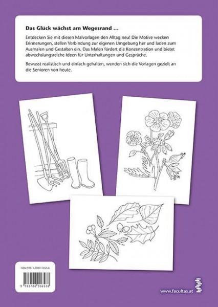 Malvorlagen. Pflanzen & Blumen