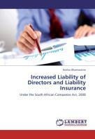 Increased Liability of Directors and Liability Insurance