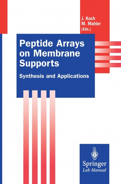 Peptide Arrays on Membrane Supports