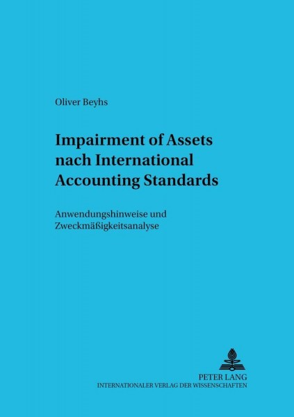 Impairment of Assets nach International Accounting Standards