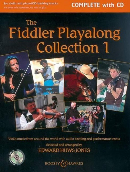 The Fiddler Play-Along Collection - Volume 1: Violin Music from Around the World