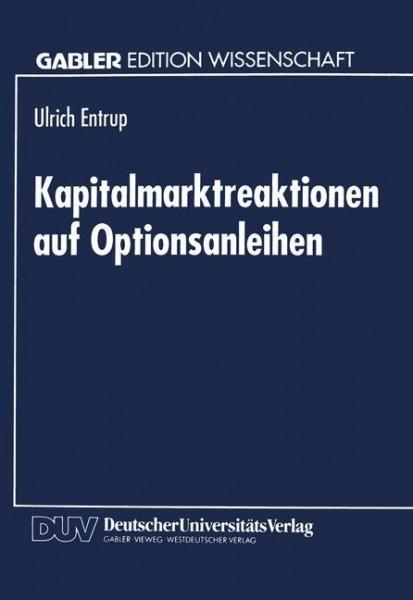 Kapitalmarktreaktionen auf Optionsanleihen