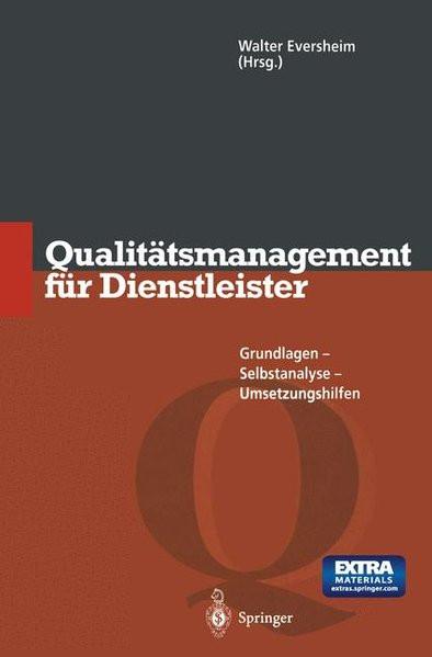 Qualitätsmanagement für Dienstleister