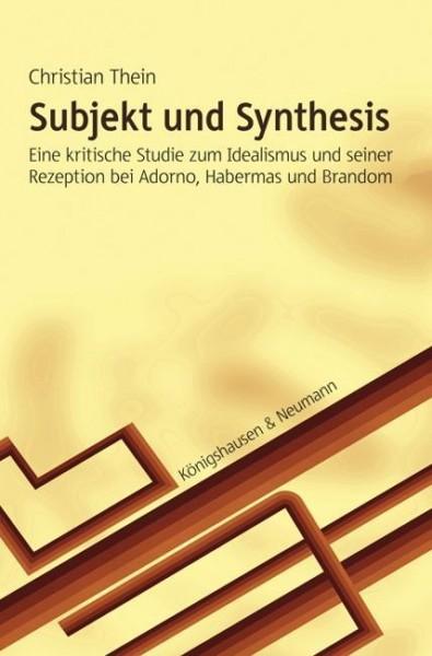 Subjekt und Synthesis