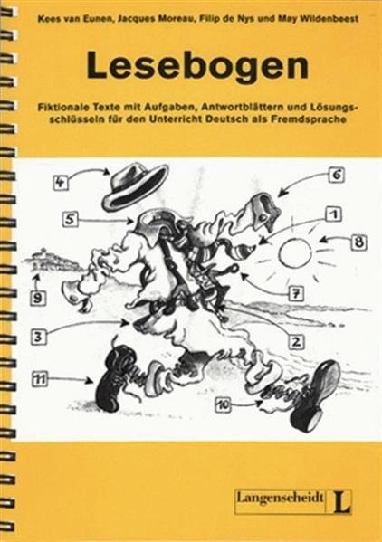 Lesebogen - Ringbuch: Fiktionale Texte mit Aufgaben, Antwortblättern und Lösungsschlüsseln für den U
