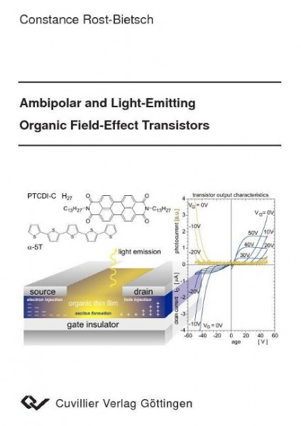 Ambipolar and Light-Emitting Organic Field-Effect Transistors