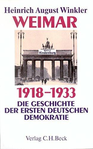 Weimar 1918 - 1933. Sonderausgabe