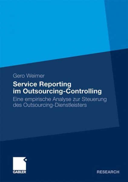 Service Reporting im Outsourcing-Controlling