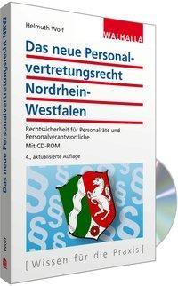 Personalvertretungsrecht Nordrhein-Westfalen (mit CD-ROM)