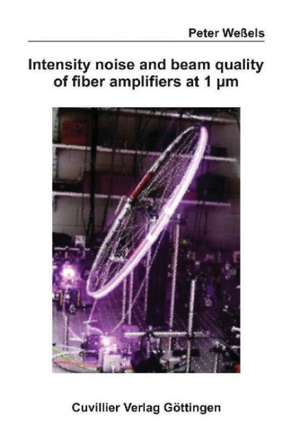 Intensity noise and beam quality of fiber amplifiers at 1 m