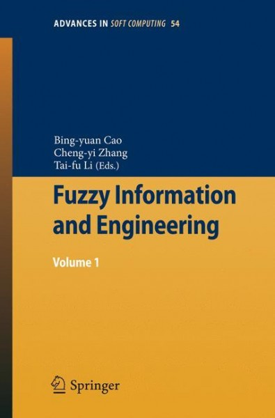 Fuzzy Information and Engineering 1