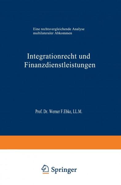 Integrationrecht und Finanzdienstleistungen