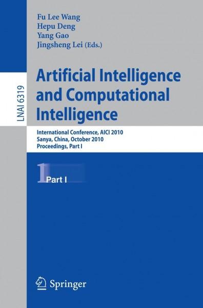 Artificial Intelligence and Computational Intelligence 1
