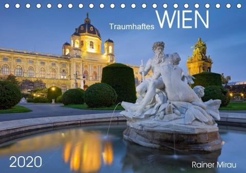 Traumhaftes Wien 2020 (Tischkalender 2020 DIN A5 quer)