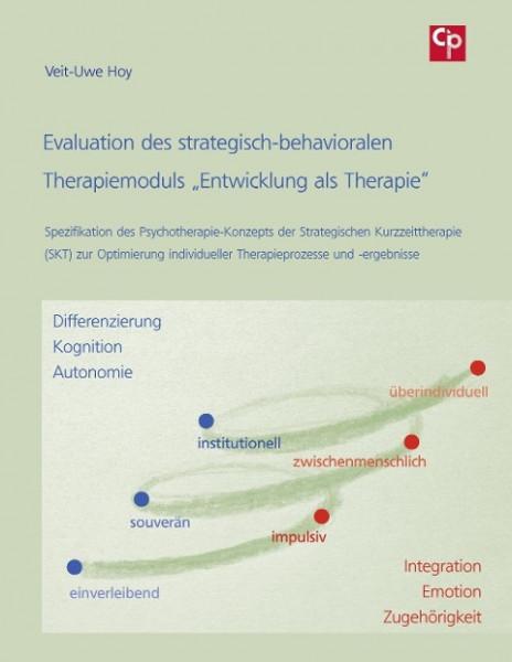 """Evaluation des strategisch-behavioralen Therapiemoduls """"Entwicklung als Therapie"""""""