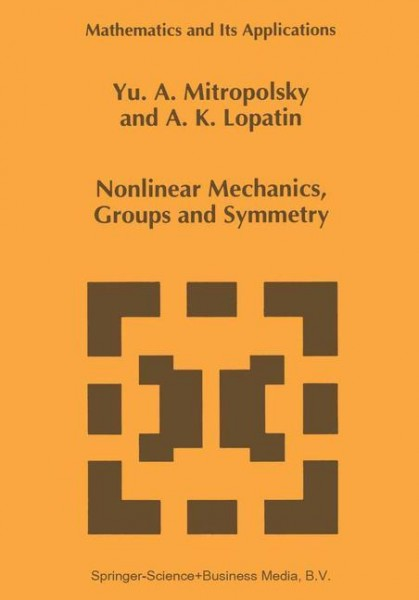 Nonlinear Mechanics, Groups and Symmetry