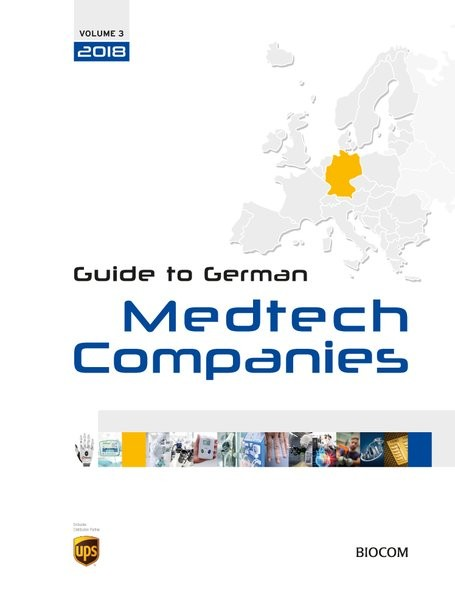 3rd Guide to German Medtech Companies 2018