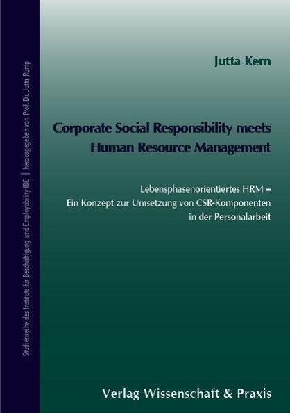 Corporate Social Responsibilty meets Human Resource Management