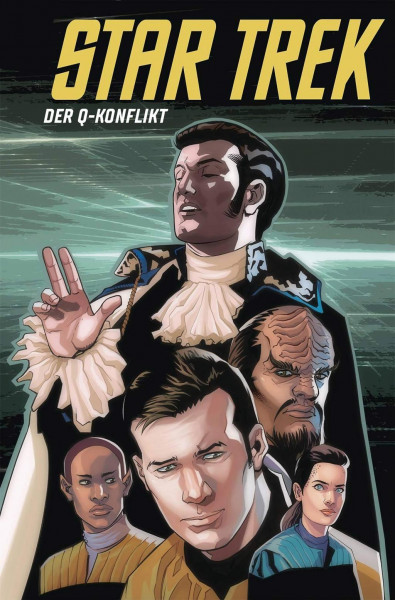 Star Trek Comicband 17: Der Q-Konflikt