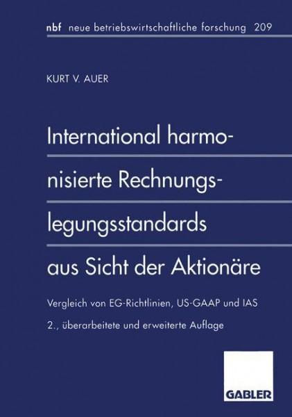International harmonisierte Rechnungslegungsstandards aus Sicht der Aktionäre