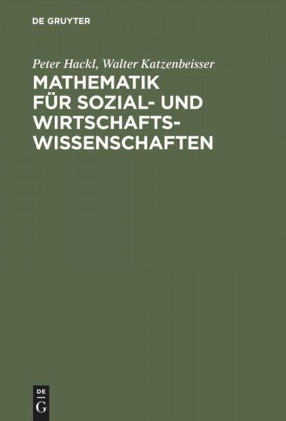 Mathematik für Sozial- und Wirtschaftswissenschaften