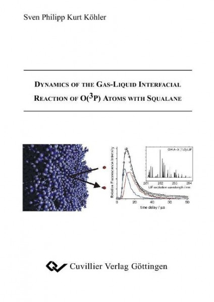 Dynamics of the Gas-Liquid Interfacial Reaction of O(3P ) Atoms with Squalane
