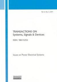 Transactions on Systems, Signals and Devices Vol. 6, No. 2
