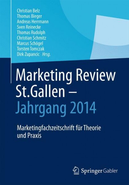 Marketing Review St. Gallen - Jahrgang 2014