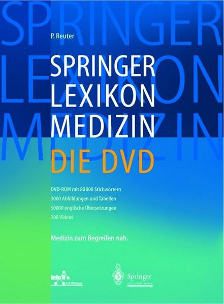 Springer Lexikon Medizin - Die DVD: Einzelplatzversion (Springer-Wörterbuch)