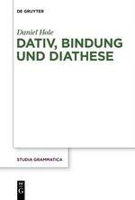 Dativ, Bindung und Diathese