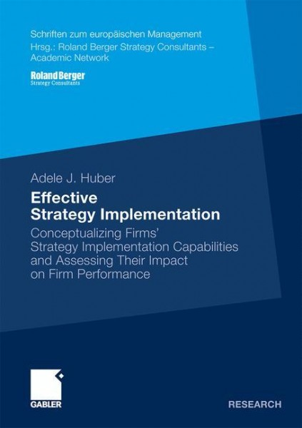 Effective Strategy Implementation