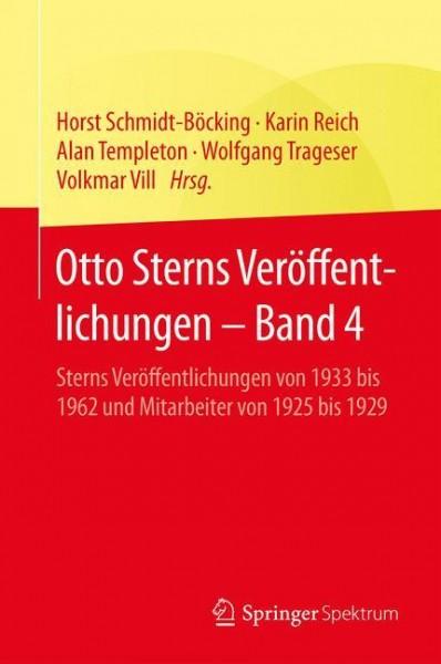 Otto Sterns Veröffentlichungen - Band 4