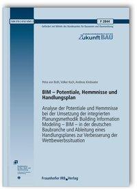 BIM - Potentiale, Hemmnisse und Handlungsplan