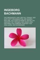 Ingeborg Bachmann - Quelle: Wikipedia