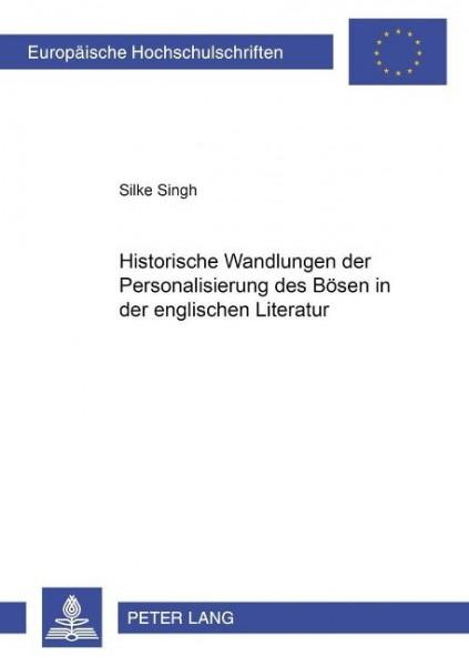 Historische Wandlungen der Personalisierung des Bösen in der englischen Literatur