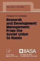 Research and Development Management: From the Soviet Union to Russia