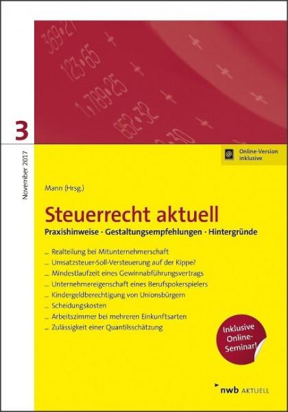 Steuerrecht aktuell 3/2017