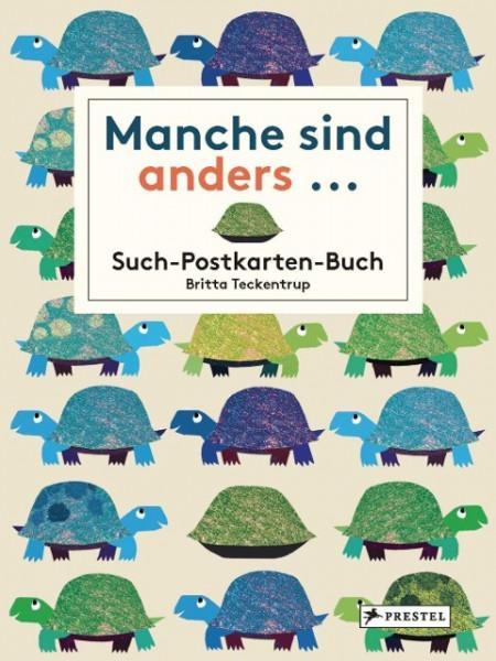 Manche sind anders... Postkarten-Buch