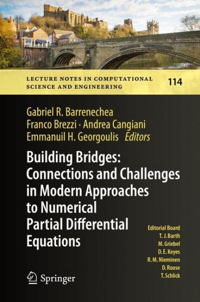 Building Bridges: Connections and Challenges in Modern Approaches to Numerical Partial Differential Equations