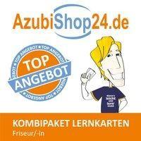 AzubiShop24.de Kombi-Paket Lernkarten Friseur/in