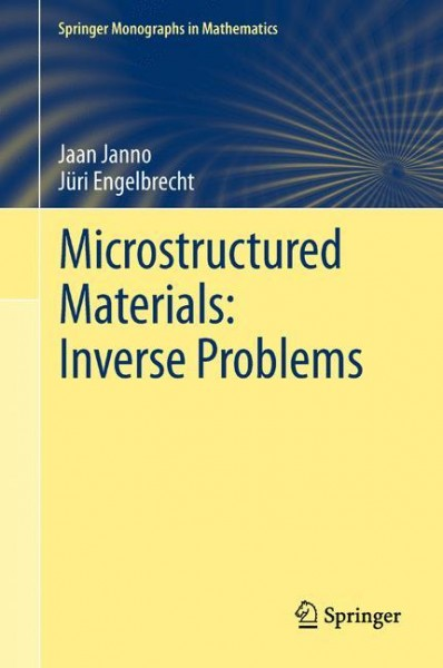 Microstructured Materials: Inverse Problems